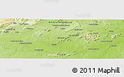 Physical Panoramic Map of Sousa