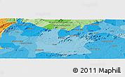 Political Panoramic Map of Sousa