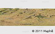 Satellite Panoramic Map of Sousa