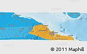 Political Panoramic Map of Dar es Salaam
