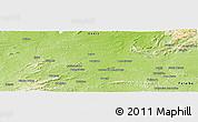Physical Panoramic Map of Cajàzeiras