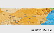 Political Panoramic Map of Cajàzeiras