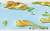 Physical 3D Map of Saattut