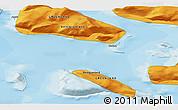 Political 3D Map of Saattut