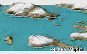 Satellite 3D Map of Saattut