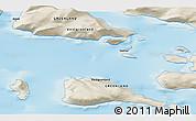 Shaded Relief 3D Map of Saattut