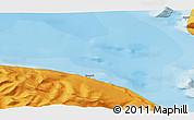 Political 3D Map of Qaarsut