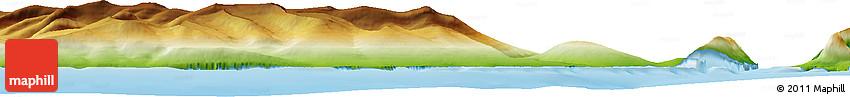 Physical Horizon Map of Qaarsut