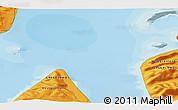 Political 3D Map of Illorsuit