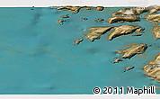 Satellite 3D Map of Kangersuatsiaq