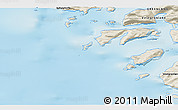 Shaded Relief 3D Map of Kangersuatsiaq