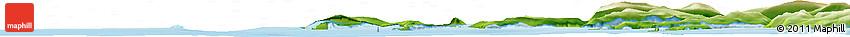 Physical Horizon Map of Kangersuatsiaq