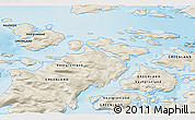 Shaded Relief 3D Map of Aappilattoq