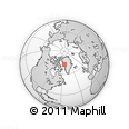 Outline Map of Aappilattoq, rectangular outline