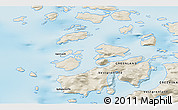 Shaded Relief 3D Map of Upernavik