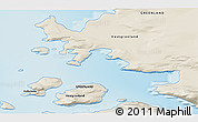 Shaded Relief 3D Map of Kullorsuaq