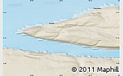 Shaded Relief Map of Narsaq