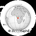 Outline Map of Zengamatari, rectangular outline