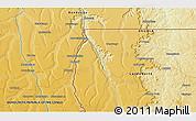 Physical 3D Map of Naginga