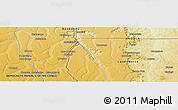 Physical Panoramic Map of Naginga