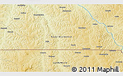 Physical 3D Map of Tumba