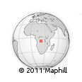 Outline Map of Maila, rectangular outline