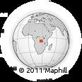 Outline Map of Lukelenge, rectangular outline