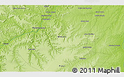 """Physical 3D Map of the area around 7°10'2""""S,44°7'30""""W"""