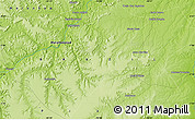 """Physical Map of the area around 7°10'2""""S,44°7'30""""W"""