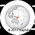 Outline Map of Iwapu, rectangular outline