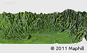 Satellite Panoramic Map of Anandea