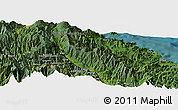 Satellite Panoramic Map of Arabuka
