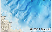 Shaded Relief Map of Ainsi