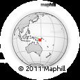 Outline Map of Ainsi, rectangular outline