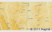 Physical 3D Map of Caungula