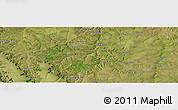 "Satellite Panoramic Map of the area around 7°41'23""S,20°28'30""E"