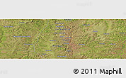 Satellite Panoramic Map of Camoio