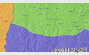 Political 3D Map of Caputungo