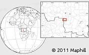 Blank Location Map of Caputungo
