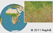 Satellite Location Map of Caputungo
