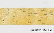 Physical Panoramic Map of Caputungo