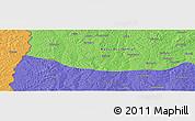 Political Panoramic Map of Caputungo