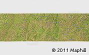 Satellite Panoramic Map of Caputungo