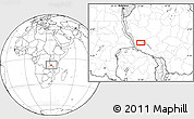 Blank Location Map of Chala