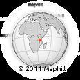 Outline Map of Wilolesi, rectangular outline