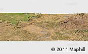 Satellite Panoramic Map of Massapê