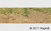 Satellite Panoramic Map of Granito