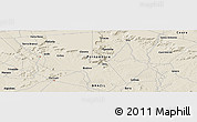 Shaded Relief Panoramic Map of Granito