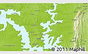 Physical 3D Map of Zongo Macheri
