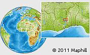 Physical Location Map of Zongo Macheri